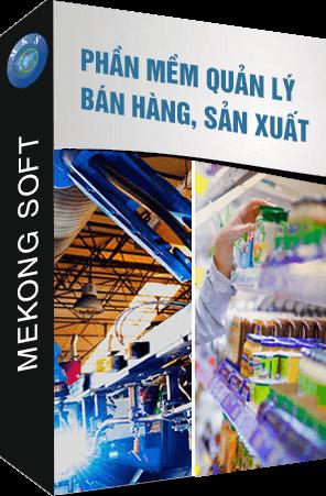 Phần mềm quản lý bán hàng, sản xuất