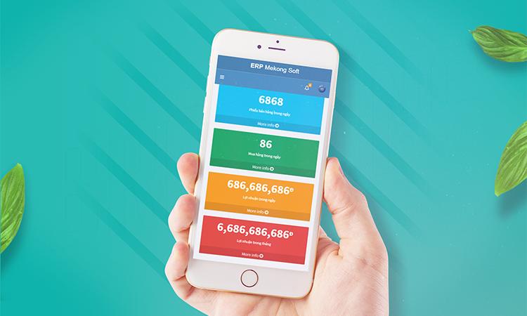 mobile app quản lý bán hàng