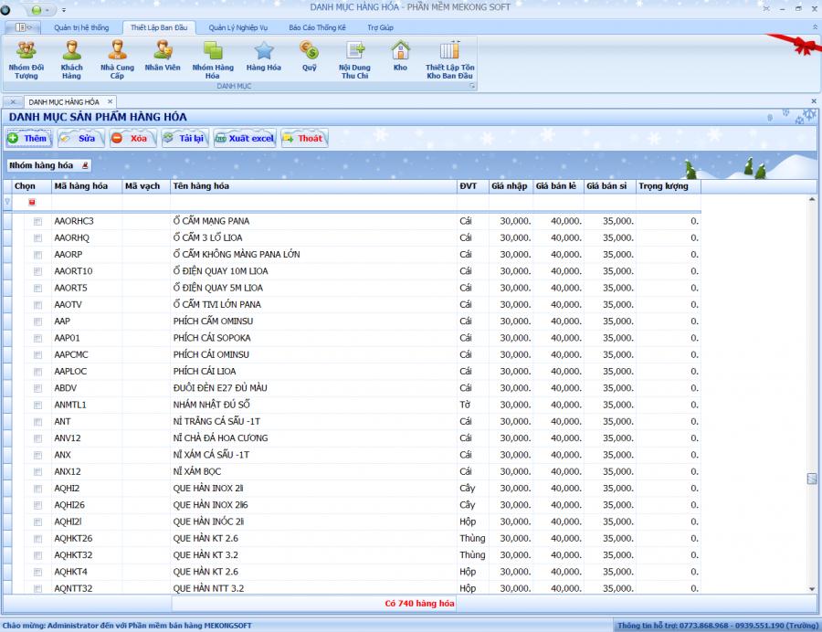 Phần mềm quản lý kinh doanh chuỗi siêu thị 1