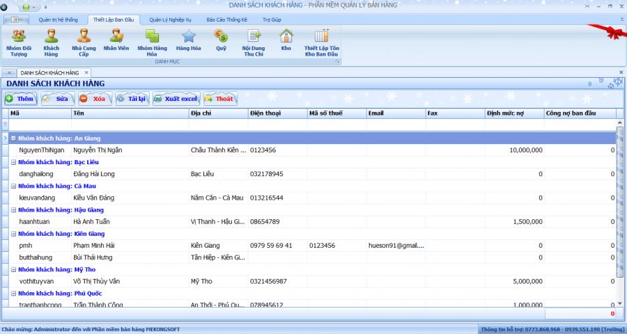 Phần mềm quản lý kinh doanh chuỗi siêu thị 4