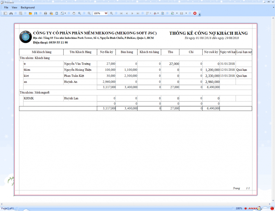 Phần mềm quản lý bán hàng vật liệu xây dựng 7