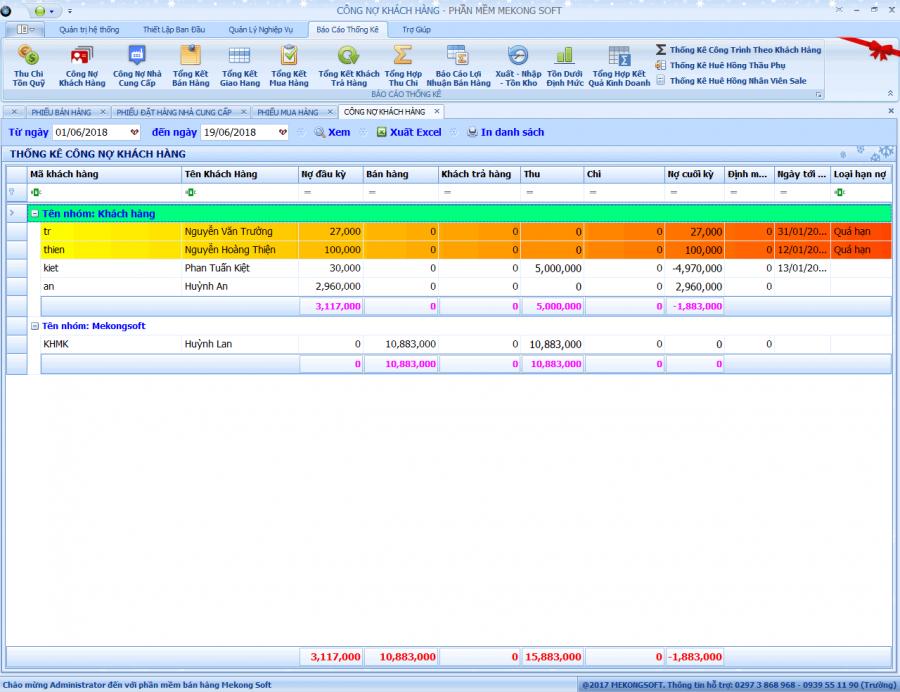 Phần mềm quản lý bán hàng vật liệu xây dựng 6