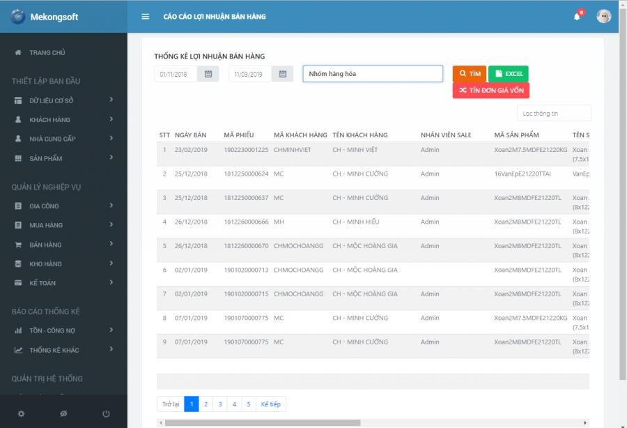 Phần mềm quản lý bán hàng, sản xuất cho doanh nghiệp vừa và nhỏ 16