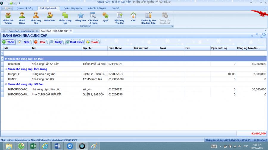 Phần mềm quản lý bán hàng dành cho doanh nghiệp vừa và nhỏ 2
