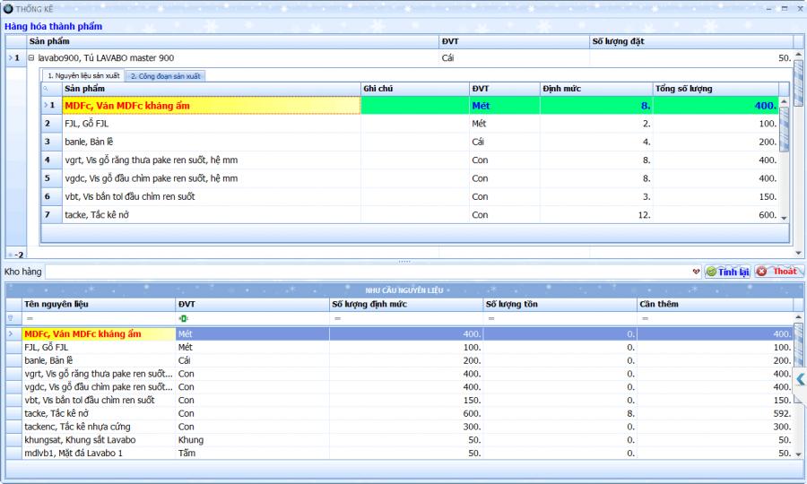 Phần mềm quản lý tổng thể doanh nghiệp sản xuất cơ khí 2