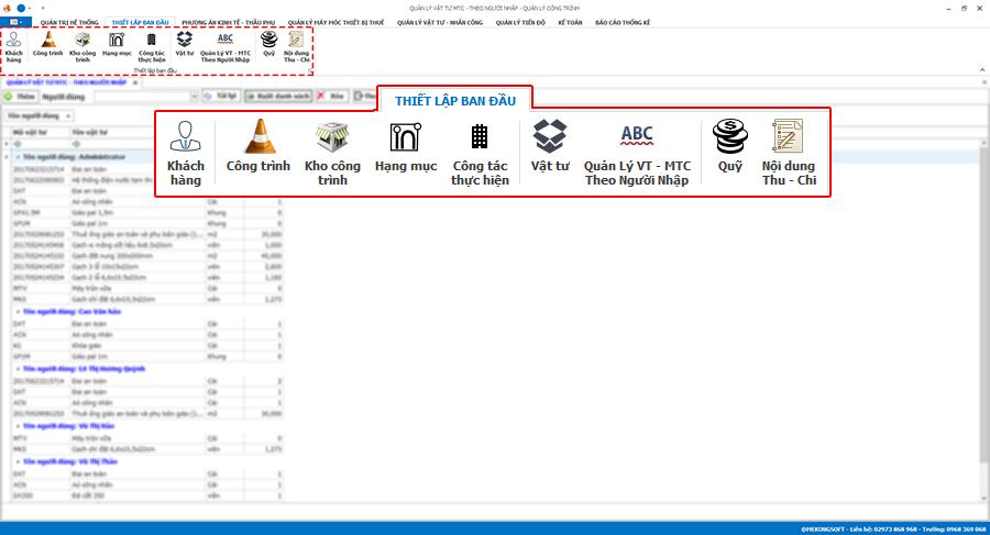 Phần mềm quản lý thi công 4