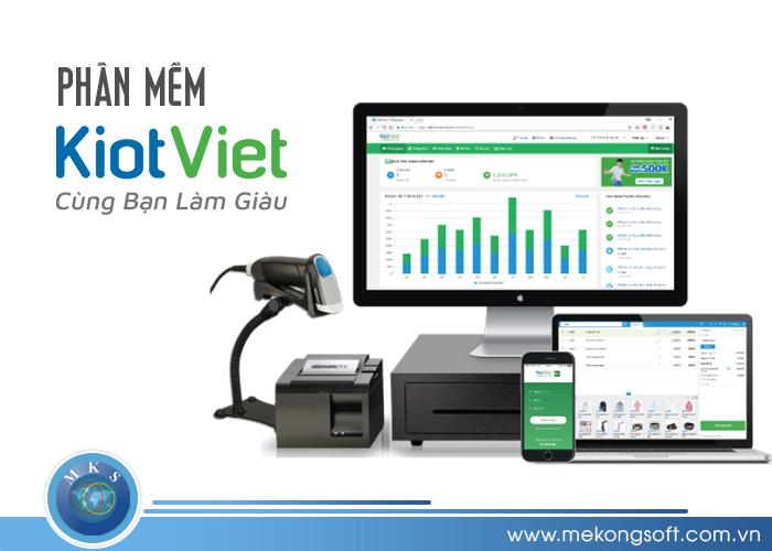KiotViet là một phần mềm quản lý bán hàng sở hữu các tính năng cơ bản