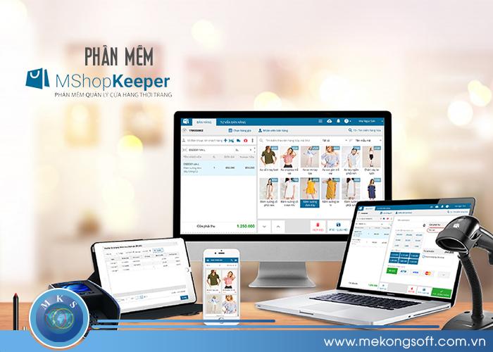 MShopKeeper là phần mềm quản lý bán hàng được phát hành bởi công ty cổ phần MISA