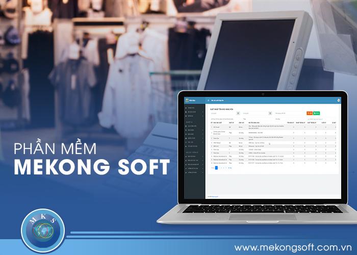 MeKong Soft trở thành địa chỉ thiết kế phần mềm quản lý bán hàng theo yêu cầu