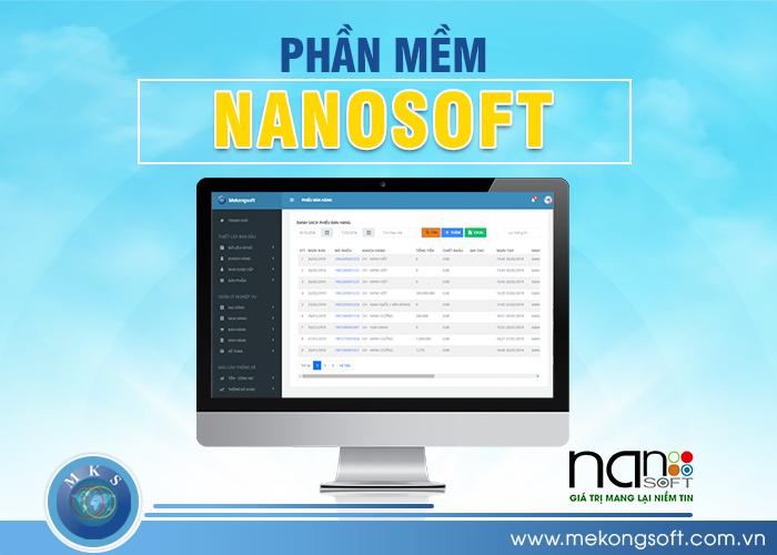 NANOSOFT cũng là một phần mềm quản lý bệnh viện chuyên nghiệp