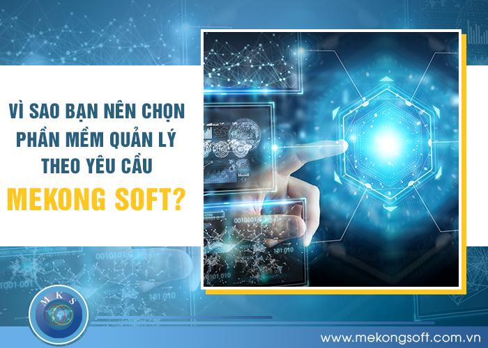 Vì sao bạn nên chọn phần mềm quản lý theo yêu cầu của MeKong Soft?