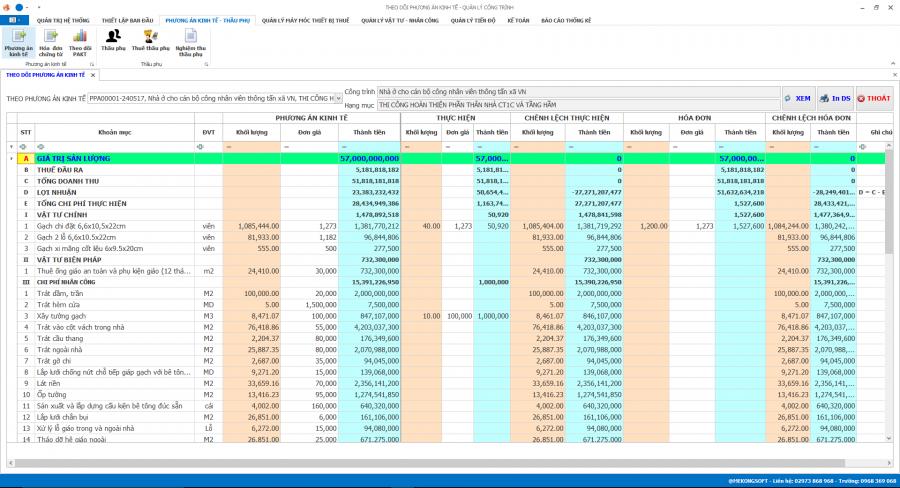 Phần mềm quản lý thi công 14