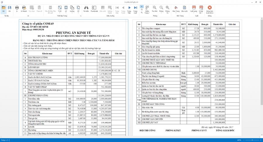 Phần mềm quản lý thi công 13