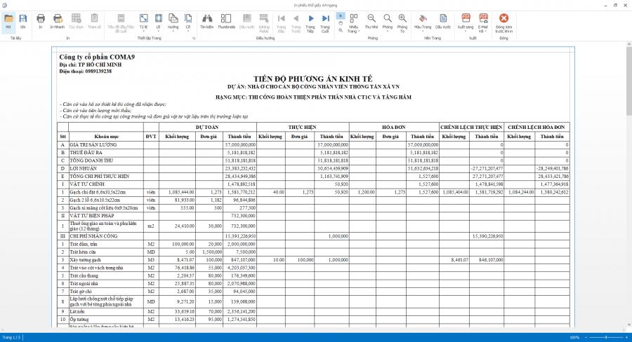 Phần mềm quản lý thi công 15
