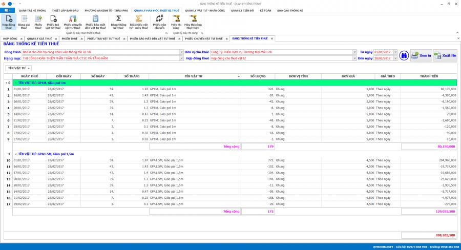 Phần mềm quản lý thi công 23