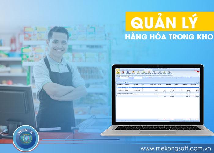 sử dụng phần mềm để quản lý hàng trong kho