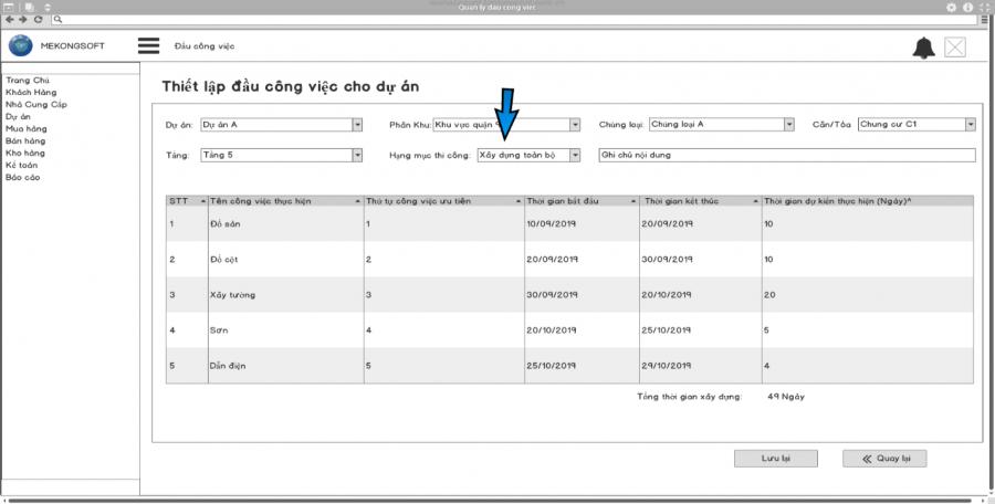 Phần mềm quản lý thi công 31