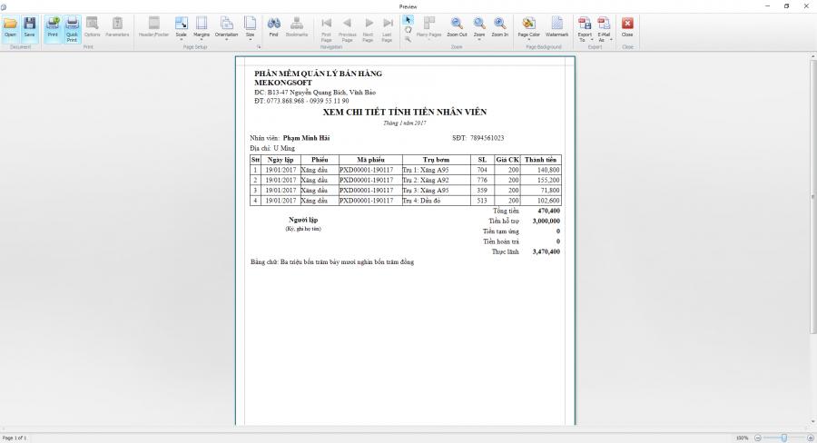 Phần mềm quản lý bán xăng dầu theo yêu cầu 9