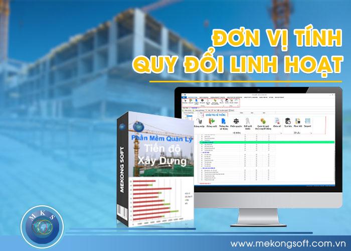 Phần mềm quản lý bán hàng vật liệu xây dựng xuất hiện và cho phép bạn quản lý hàng hóa theo các đơn vị tính khác nhau