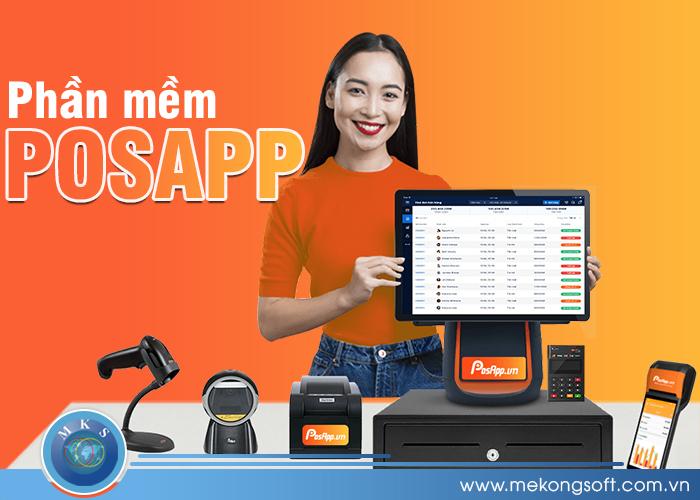 Posapp là phần mềm quản lý thu chi được nhiều cửa hàng kinh doanh