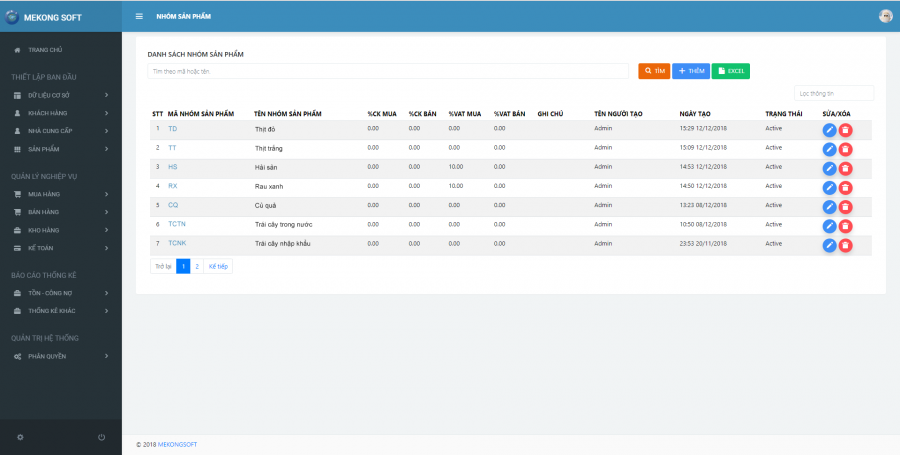 Phần mềm quản lý chuỗi cửa hàng kinh doanh thực phẩm sạch 1