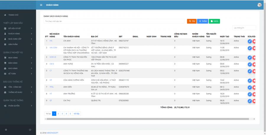 Phần mềm quản lý chuỗi cửa hàng kinh doanh thực phẩm sạch 5