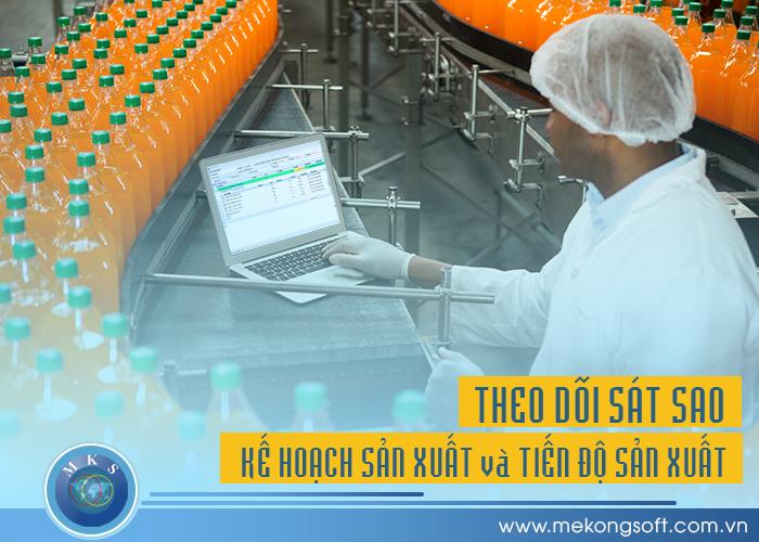 Phần mềm quản lý doanh nghiệp sản xuất sẽ cung cấp trạng thái sản xuất và phân luồng các công việc