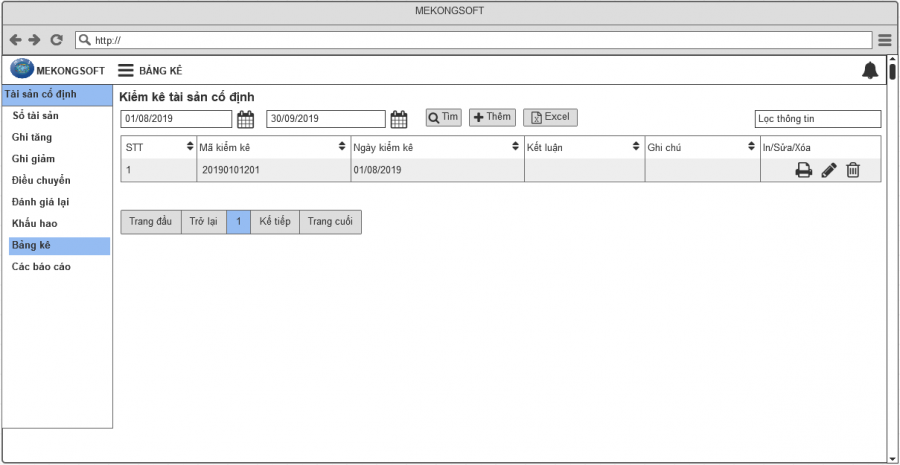 phần mềm quản lý tài sản cố định 10