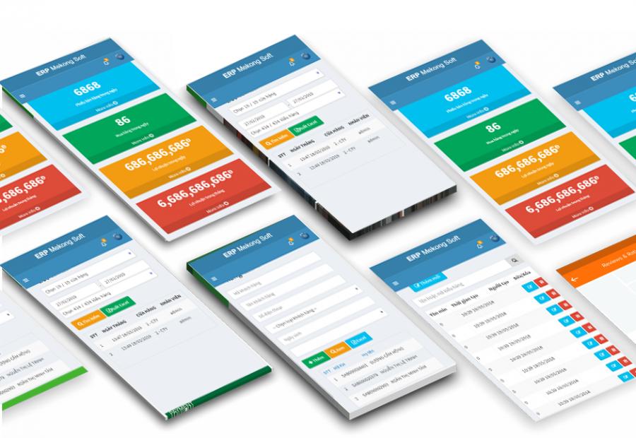 App bán hàng trên điện thoại di động 1