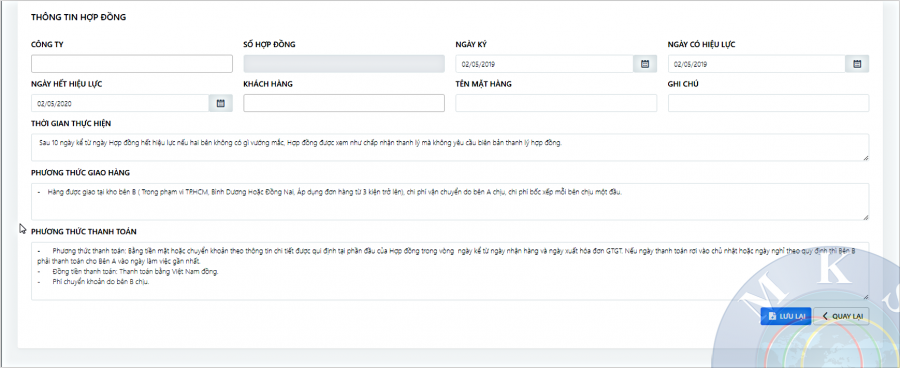 Phần mềm quản lý sàn giao dịch bất động sản Mekong Soft 4