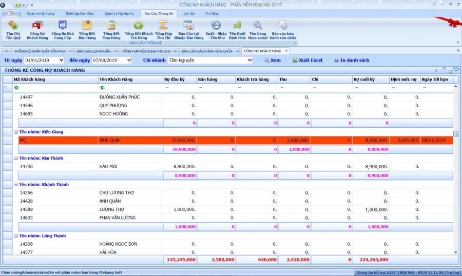 Phần mềm quản lý bán hàng điện tử, điện máy 8