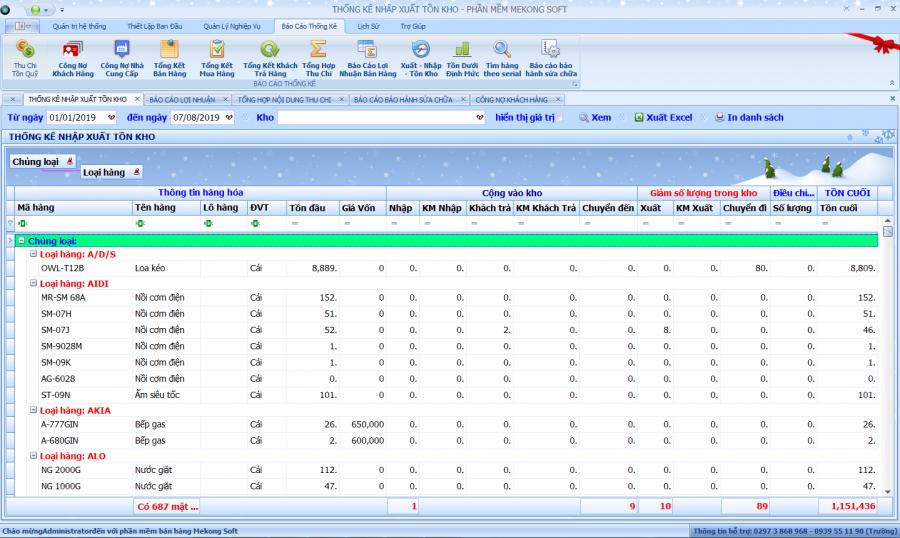 Phần mềm quản lý bán hàng điện tử, điện máy 5