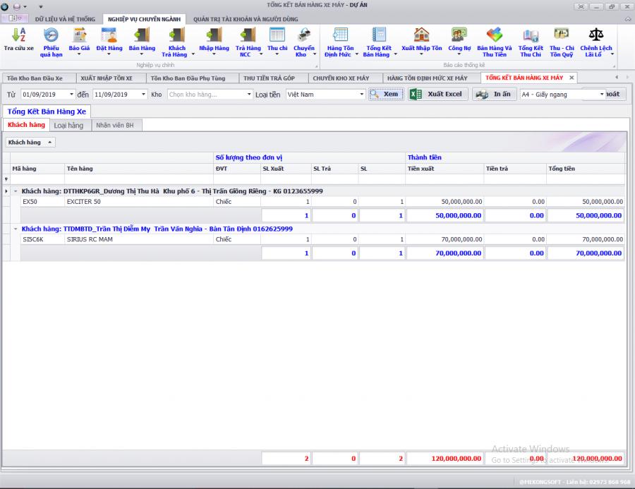 phần mềm quản lý kinh doanh xe ô tô, gắn máy trả góp 22