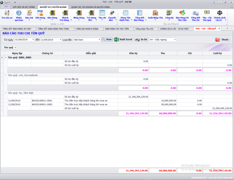 phần mềm quản lý kinh doanh xe ô tô, gắn máy trả góp 27