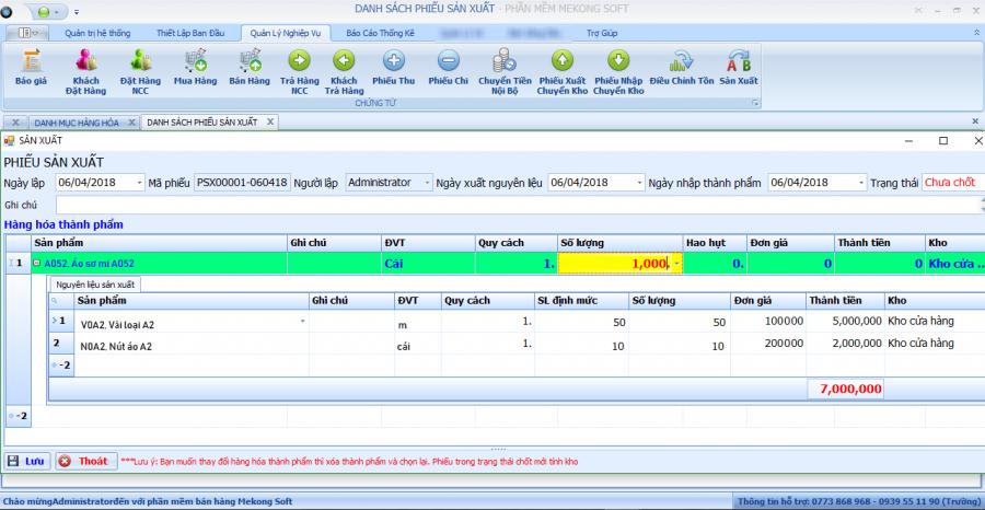 Phần mềm ERP quản lý doanh nghiệp theo yêu cầu 14