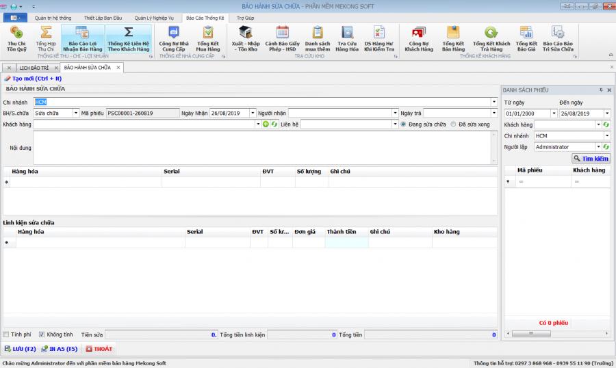 Phần mềm quản lý kinh doanh, thầu vật tư thiết bị Y tế - hình 16