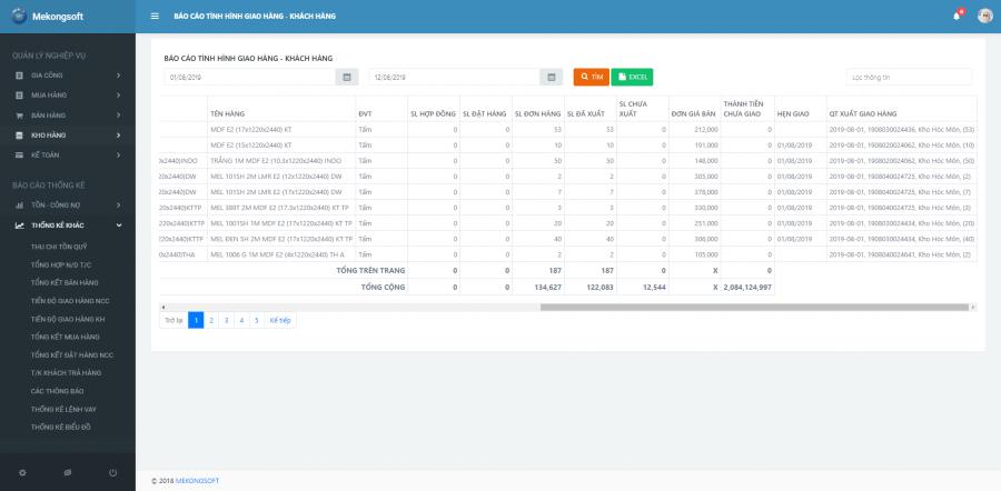 Phần mềm quản lý nhà phân phối, đại lý mỹ phẩm 7