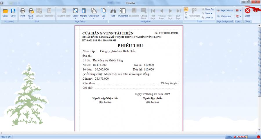 Phần mềm quản lý bán hàng vật tư nông nghiệp 10