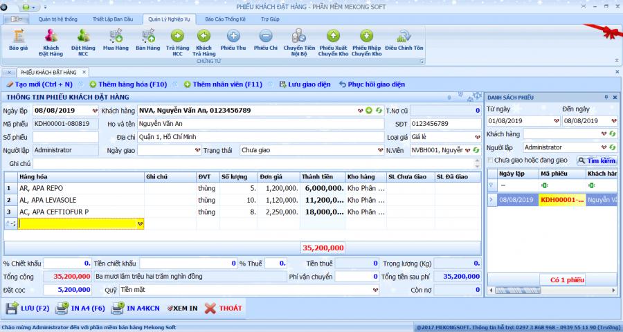 phần mềm quản lý bán thuốc thú y 2