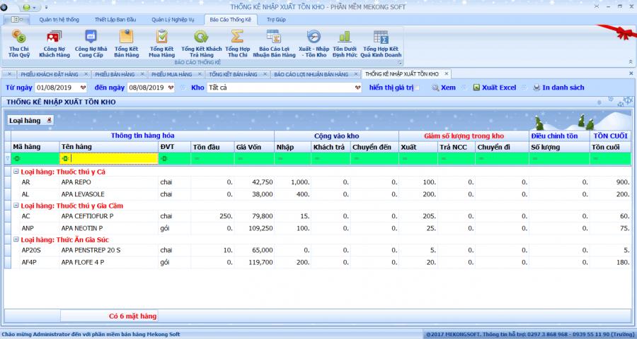 phần mềm quản lý bán thuốc thú y 9