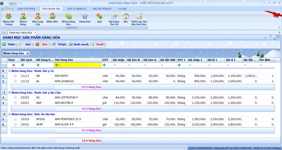 phần mềm quản lý bán thuốc thú y 1