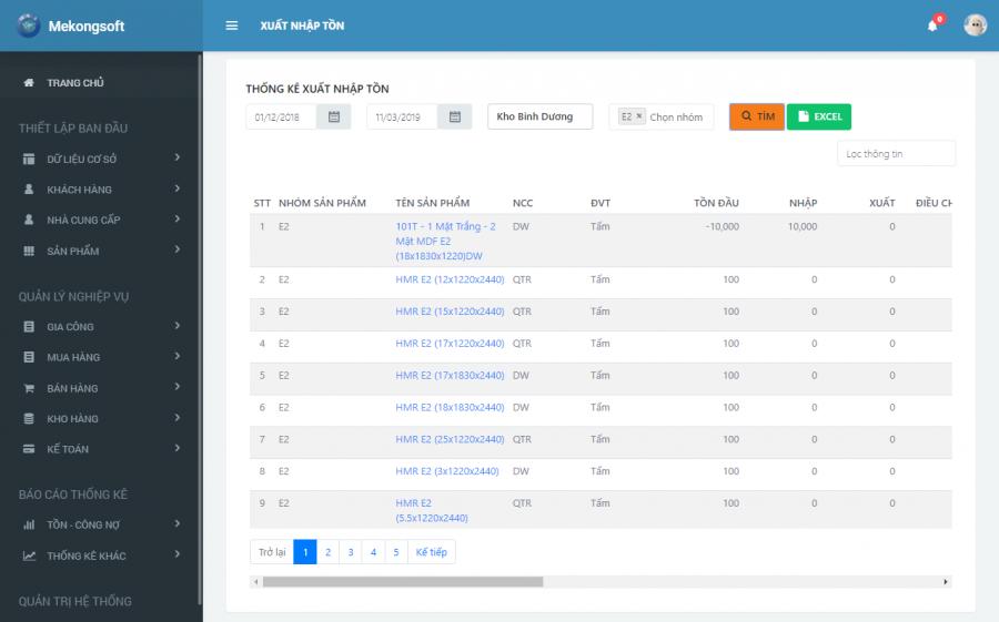 Phần mềm quản lý kho hàng theo yêu cầu 10