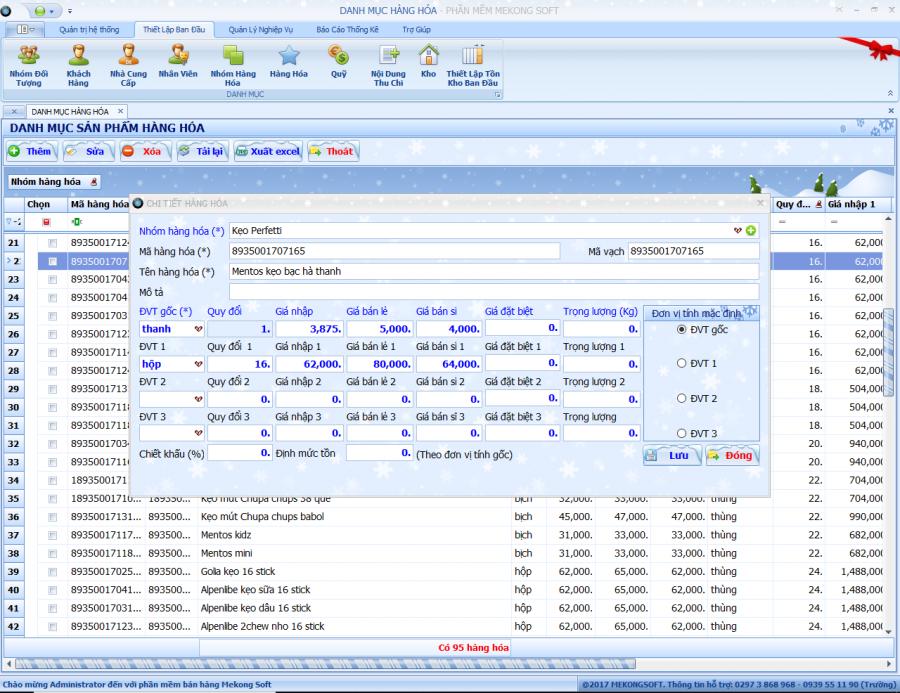 Phần mềm quản lý nhà phân phối (NPP), đại lý hàng tiêu dùng 1