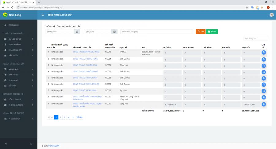 Phần mềm quản lý nhà phân phối (NPP), đại lý hàng tiêu dùng 13