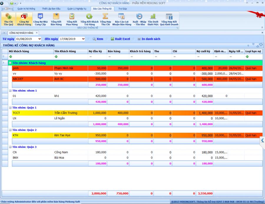 Phần mềm quản lý shop thời trang 7