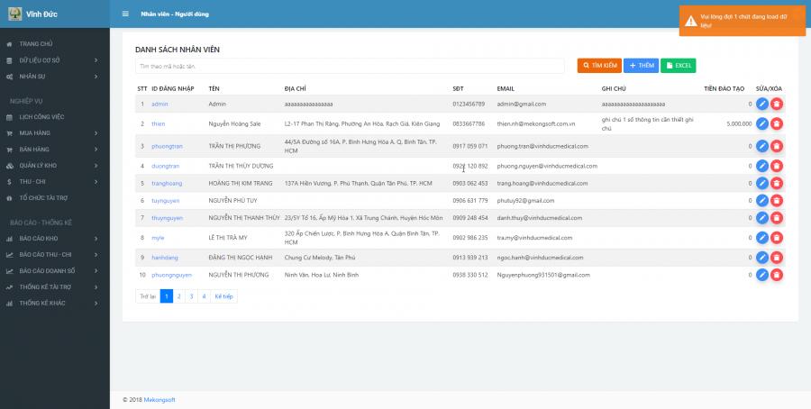 Phần mềm quản lý kinh doanh, thầu vật tư thiết bị Y tế - hình 20