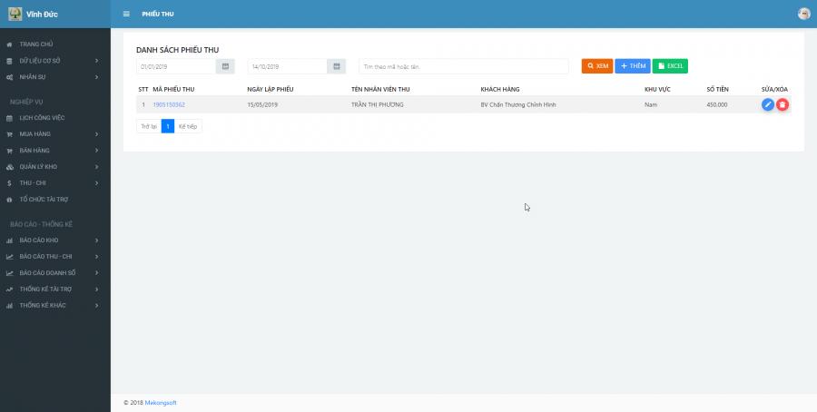 Phần mềm quản lý kinh doanh, thầu vật tư thiết bị Y tế - hình 25