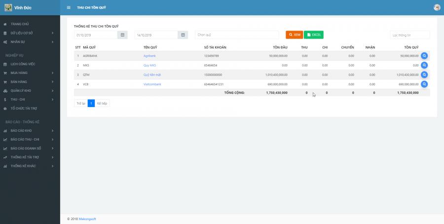 Phần mềm quản lý kinh doanh, thầu vật tư thiết bị Y tế - hình 28