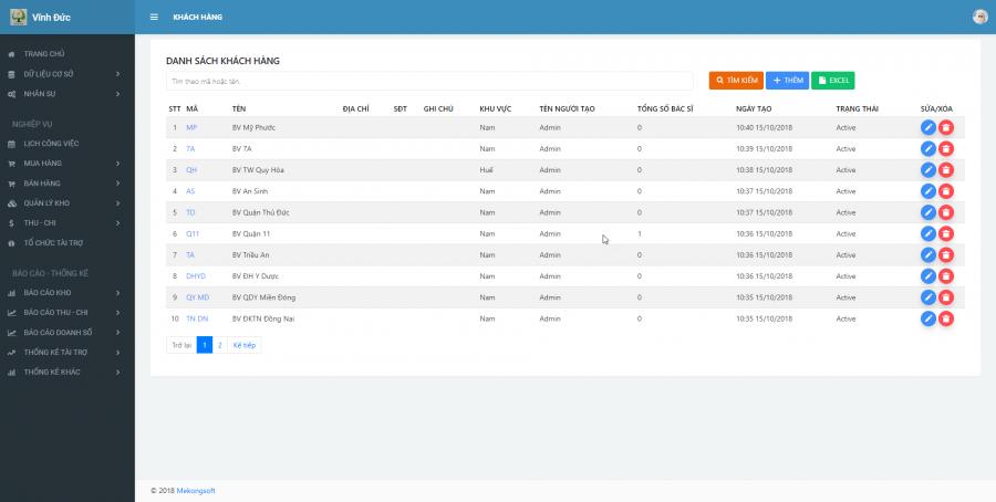 Phần mềm quản lý kinh doanh, thầu vật tư thiết bị Y tế - hình 6