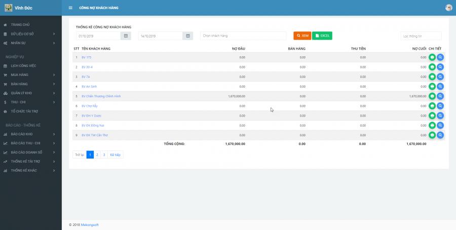 Phần mềm quản lý kinh doanh, thầu vật tư thiết bị Y tế - hình 29